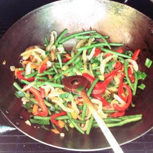 Wokgemüse vom Grill!