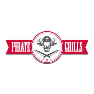Aufkleber Logo Pirategrills